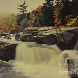 Ruth Housley - Waterfall At Autumn 2