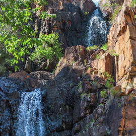 Waterfall at Katherine Gorge by Andrew Michael