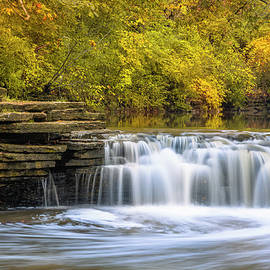 Waterfall Glen, Lemont, Il by Adam Romanowicz