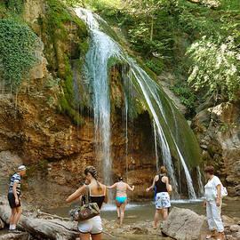Yuri Hope - Waterfall Jur-Jur, Crimea.