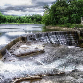 Waterfalls Cornell University Ithaca New York 07 by Thomas Woolworth