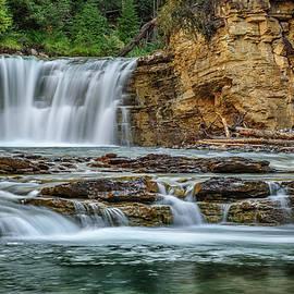 Yves Gagnon - Waterfalls Johnston Canyon Banff National Park