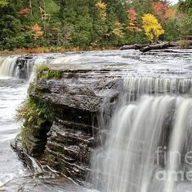 Norris Seward - Waterfalls Lower Tahquamenon Falls Autumn Colors -1975