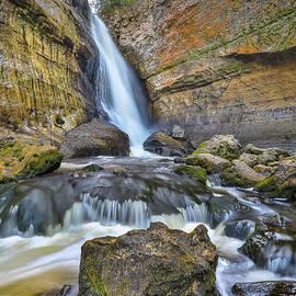 Norris Seward - Waterfalls Miners Pictured Rocks -2392