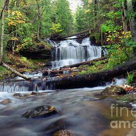 Norris Seward - Waterfalls Wagner Munising  -1112