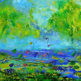 Pol Ledent - Waterlilies