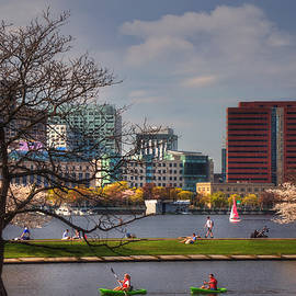 Joann Vitali - Watersports on the Charles River-Boston