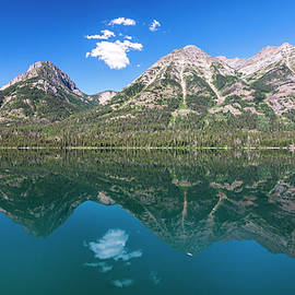 Waterton Reflection #1 by Patti Deters