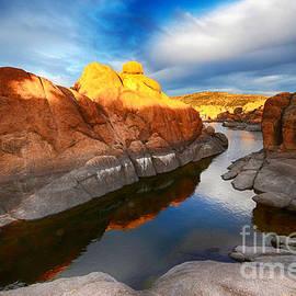 Watson Lake Arizona 10 by Bob Christopher