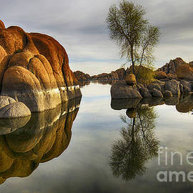 Watson Lake Arizona 12 by Bob Christopher