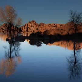 Watson Lake, Arizona, IV by Dave Wilson