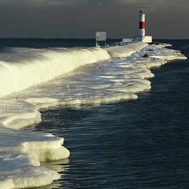 David T Wilkinson - Waukegan Light Ice