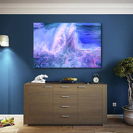 Wave Image In Room by Bill Posner