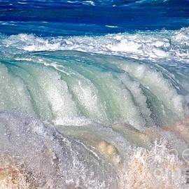 Wave Waterfall, Sunset Beach, Hawai'i by Debra Banks