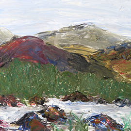 Patricia Beebe - Wax Mountain Stream