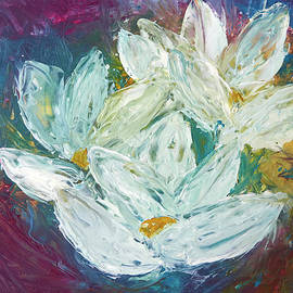 Patricia Beebe - Wax Water Lilies