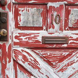 Deborah Brown - Weathered Red Door 1