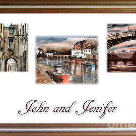 Wedding John And Jennifer by Val Byrne