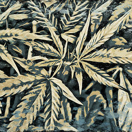 Weed Abstracts Four by Alice Gipson