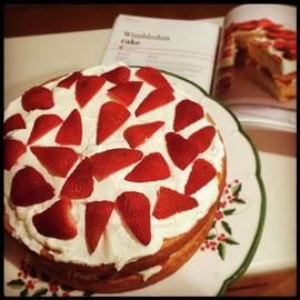 Weekend Baking: Mary Berry's Wimbledon
