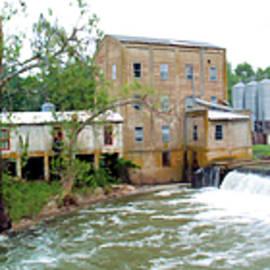 Weisenberger Mill Landscape by Sam Davis Johnson