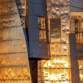 Sam Wagner - Weisman Windows Reflect Sunset