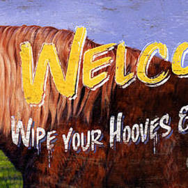 Welcome Horse Sign by JQ Licensing