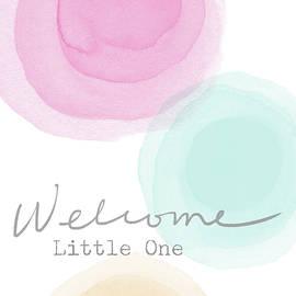 Linda Woods - Welcome Little One- Art by Linda Woods