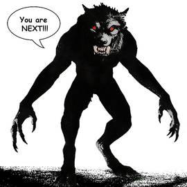 Solomon Barroa - Werewolf Comic Illustration 1