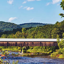 library of congress - west dummerston covered bridge