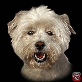 West Highland Terrier Mix - 8674 - Bb by James Ahn