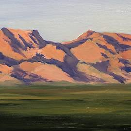 West Valley Mountain - Art by Bill Tomsa by Bill Tomsa