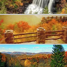 Kathleen K Parker - West Virginia Autumn Triptych
