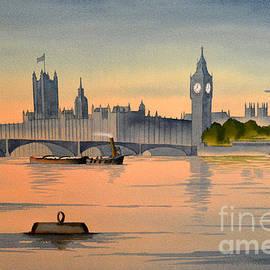 Bill Holkham - Westminster And Big Ben