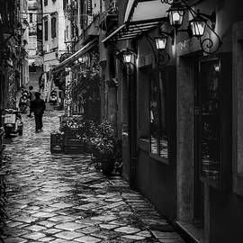 Paul Woodford - Wet Day in Corfu Town
