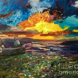 Karen Harding - Weybourne Beach