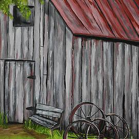 Wheel Barn by Michell Lazov