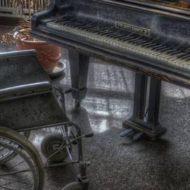 Wheel piano by Nathan Wright