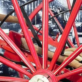 Wheel Spokes by Ali Baucom