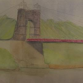 David Bartsch - Wheeling Suspension Bridge