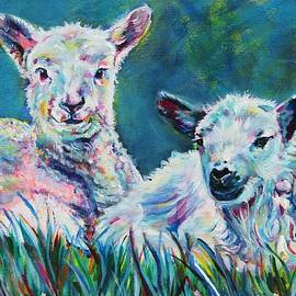 When ewes were young by Karin McCombe Jones