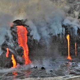When Lava Meets the Sea by Heidi Fickinger
