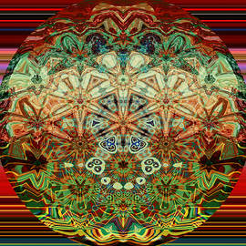 Whimsical Mandala by Grace Iradian