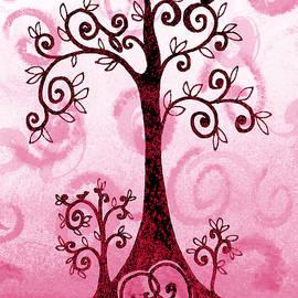 Irina Sztukowski - Whimsical Tree And Hidden Heart