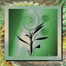 Whirling plant #6 by Iris Gelbart