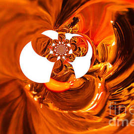 Whirls abstract