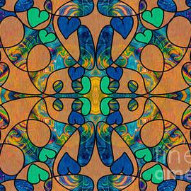Omaste Witkowski - Whispering Dimensions Abstract Design Art by Omaste Witkowski