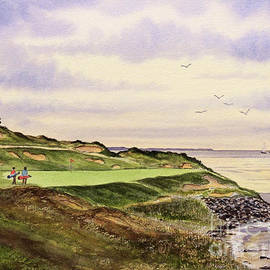 Bill Holkham - Whistling Straits Golf Course Hole 7
