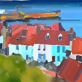 Whitby Harbour by Paul Jarvis
