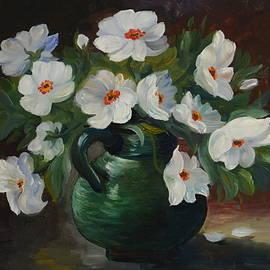 Maryna Borysova - White anemones